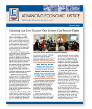 Advancing Economic Justice Newsletter Thumbnail
