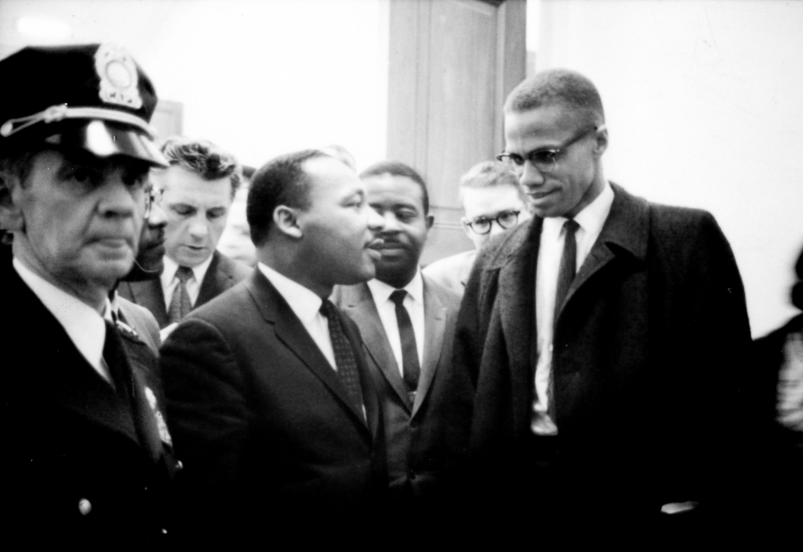 Martin Luther King and Malcolm X
